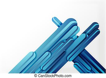 Straight lines background - Straight blue lines vector...