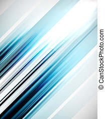 Straight lines vector abstract background - Blue abstract...