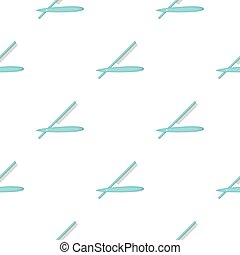 Straight razor icon in cartoon style isolated on white background. Hairdressery symbol stock vector illustration.