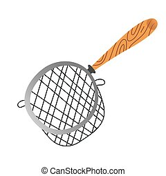 Strainer Sieve, metal mesh vintage strainer for rinsing food...