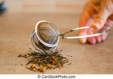 strainer thé