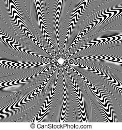stralen, abstract, lijnen, vorm., model, ronddraaien, achtergrond., radiaal, omwenteling, element., circulaire