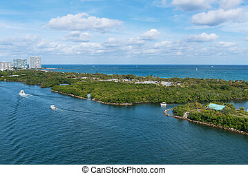 Stranahan River - John U. Lloyd Beach State Park and the...