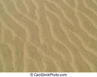 strand, abstract, achtergrond, zand, ripples