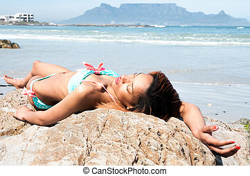 strand, barnunge
