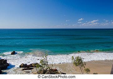 Strand bei Byron Bay, Australien