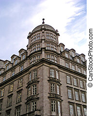 Old building on The Strand, London, England.