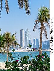 strand, dubai, park, jumeirah