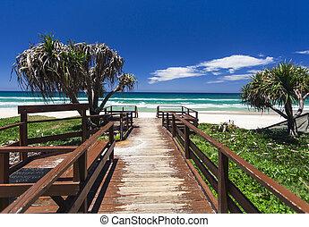 strand, gouden kust