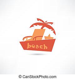 strand, ikon