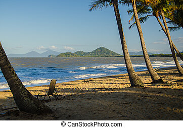Palm Cove - Strand in Palm Cove nahe Cairns, Australien.
