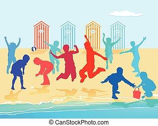 Strand-Kinder