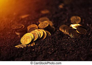 strand lån, för, jordbruks produktion, serbian, dinar,...