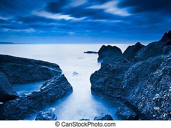 strand, landscape, mooi