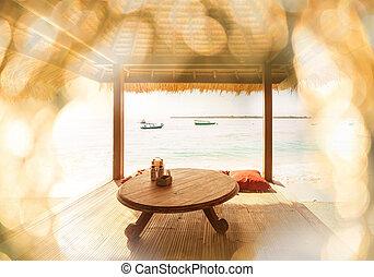 strand scen