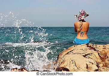 strand, skönhet