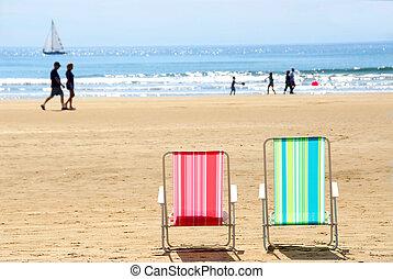 strand stol