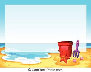 strand, synhåll