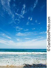 strand, tijd