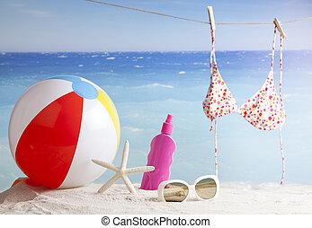 strand, tillbehör