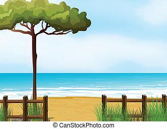 strand, tyst