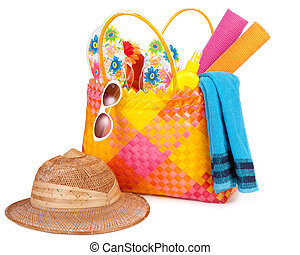 strand väska