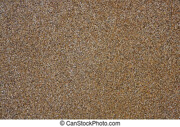strand, våt sand, brun, struktur, medelhavet