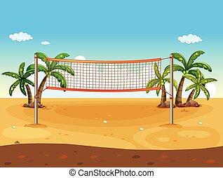 strand volleyball