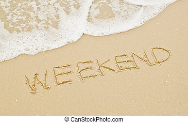 strand., weekend