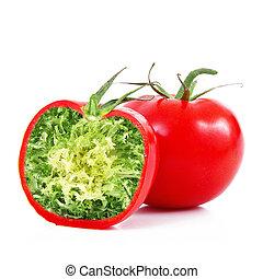 ibrid vegetable tomato-salad