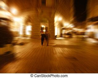strangers in fourth dimension