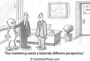 straniero, marketing
