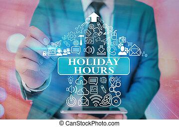 straordinario, significato, concetto, hours., scrittura, schedules., personale, flessibile, vacanza, lavoro, testo, sotto, scrittura