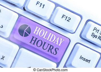 straordinario, significato, concetto, hours., scrittura, schedules., personale, flessibile, vacanza, lavoro, testo, sotto