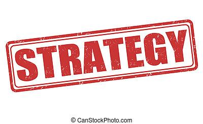 stratégia, bélyeg