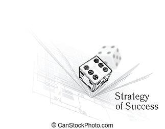 stratégia, helyett, siker