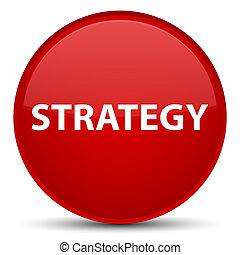 stratégia, különleges, piros, kerek, gombol