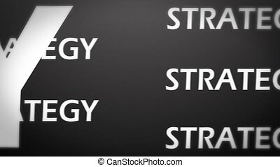 stratégie, animation