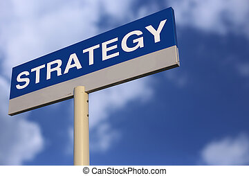stratégie, panneaux signalisations