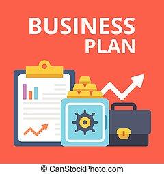 stratégie,  plan, idée,  Business