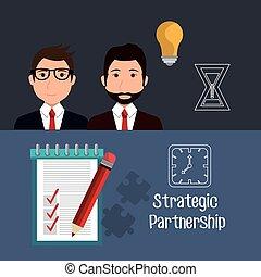 stratégique, association, conception