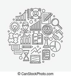 strategi, planerande, affär