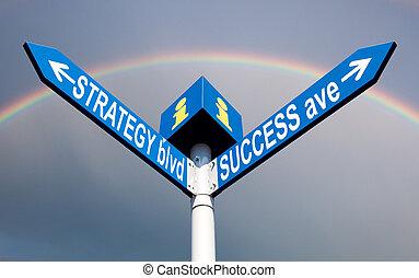 strategia, blvd, i, powodzenie, ave