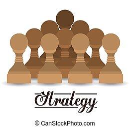 strategia, ikona