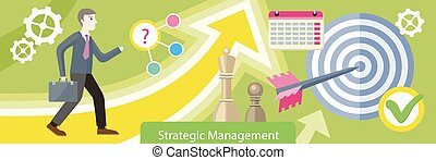 Strategic Management Design Flat