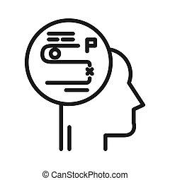 strategic plan vector illustration design