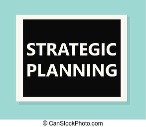 strategic planning- vector illustration