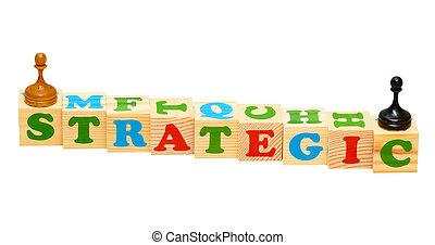 Strategic Wooden Blocks