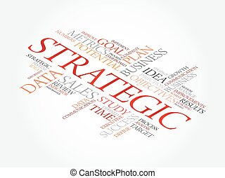 Strategic word cloud