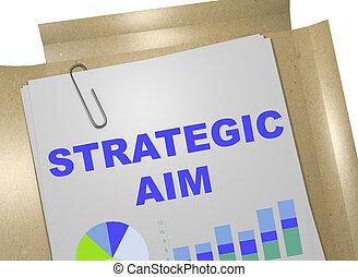 strategiczny, cel, pojęcie